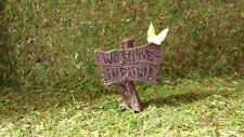 We believe in fairies sign for fairy gardens