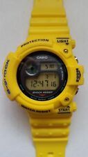 Frogman DW-6300-9 Yellow G Shock Bezel Damaged VG