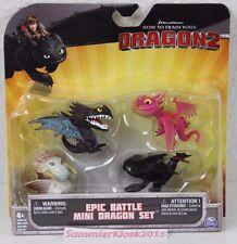Epic Battle Mini Dragon Set - Drachenzähmen leicht gemacht - Dragons mit Skrill