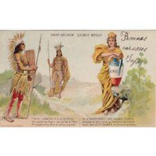 SAINT-GALMIER source badoit richesses du monde timbrée 1907