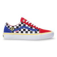 New Vans Old Skool Pro Brighton Zeuner Red/Check/Blue Sneakers Skate Shoes 2020