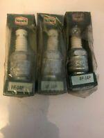 Vintage NOS Texaco Spark Plug 8f14p Champion F14y RARE NOS Packaging  LOT OF 3
