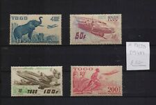 !   Togo 1947.  Air Mail Stamp. YT#A17/20. €32.00 !