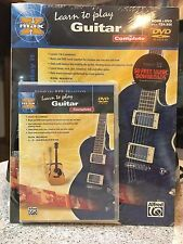 Alfred Alfred's MAX Learn to Play Guitar Complete (Book & DVD with Case) New
