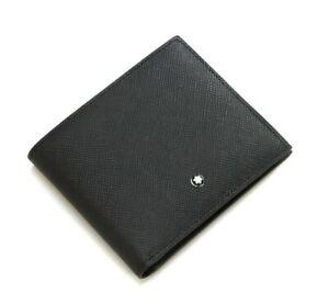 MONT BLANC 113215 Satorial 6CC Bifold Men's Leather Wallet