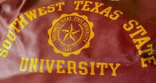 Vintage SWT Duffle Bag (Southwest Texas State University) maroon gold