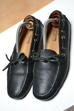 Scarpe CAR SHOE N.38,5 UK5,5 Made in ITALY HANDMADE Fatte a mano Loafers Nere