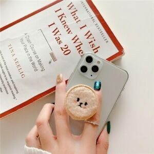 Finger Ring Teddy Bear Mobile Cell Phone Grip Holder Poodle For iPhone 12 BEST