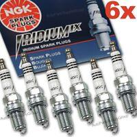 6 Genuine NGK Iridium IX Spark Plugs Set BKR6EIX OEM UPGRADE Japan Gapped