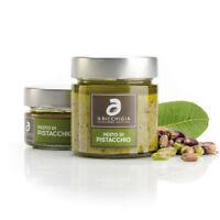 Pesto di pistacchio al 60% sugo eccellenza siciliana 'a Ricchigia 190 gr Bronte