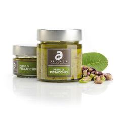 Pesto pistachio a 60% gravy excellence sicilian 'at Ricchigia 190 g Bronte