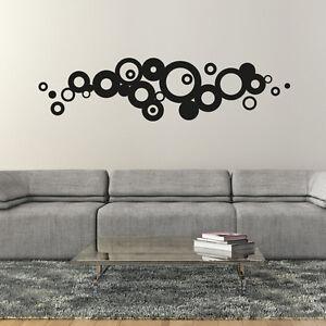 Wandtattoo Retro Dots Abstrakt Punkte Aufkleber Wall Wand Tattoo #2114