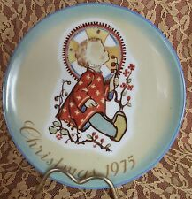 "Hummel ""Christmas Child"" 1975 Limited Edition Collector Plate ~ West Germany"