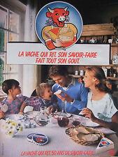 PUBLICITÉ 1978 LA VACHE QUI RIT 50 ANS DE SAVOIR FAIRE - BEL - ADVERTISING