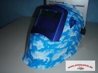 6 Stück Solar Automatik Schweisshelm BlueSky Schweissmaske Schweissschirm