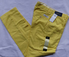 "Polo Ralph Lauren Preppy Pant avec Label ""Yellow"" Chino T 32/34"