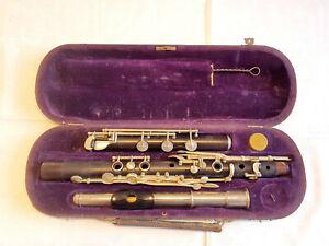 Rarität! Antike Querflöte Reformflöte Wilh. Kruse Markneukirchen Vintage Flute!