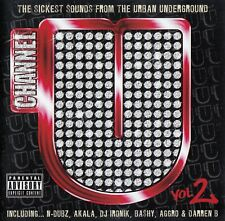 CHANNEL U - VOL. 2 (THE SICKEST SOUNDS FROM THE URBAN UNDERGROUND) / 2 CD-SET