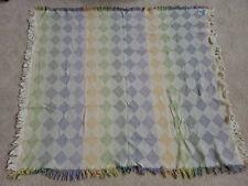 Vintage Crown Crafts woven throw / blanket 57 X 68