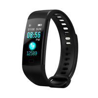 PC Fitness Tracker Wireless Bluetooth Activity Track Watch W/Heart Rate Monitor