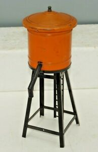 VINTAGE O-GAUGE LIONEL ALL METAL WATER TANK TOWER ACCESSORY
