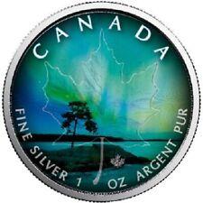 Kanada - 5 Dollar 2018 - Maple Leaf - Quebec (1.) - 1 Oz Silber ST