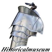 Medieval Pauldrons Gothic Spaulders German Goth Shoulder Larp ReenactmentQ