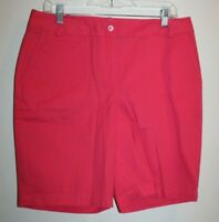 Talbots Women's Size 10 Bermuda Shorts Pink NWT MSRP: $50
