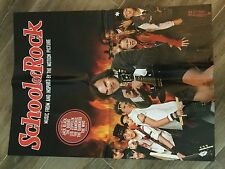 School Of Rock Promo Poster 2 Sided 18 x 24