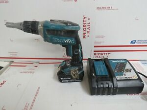MAKITA 18V Cordless Drywall Screwdriver w/ 5AH battery + Charger
