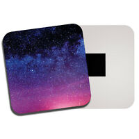 Pink Purple Ombre Sky Fridge Magnet - Night Stars Space Pretty Cool Gift #14183