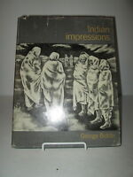 1960 Indian Impressions by George Biddle HB DJ Artist's Impression of India 1st