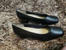Flight Attendants Comfort Airline Shoes Womens 6M Black shock-absorbing pumps