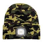 Head Lightz LED Unisex Warm Knit Beanie Hat, Machine Washable, Rechargeable