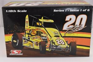 2008 Tony Stewart TSR Racing BPS #20 Dirt Sprint Midget Diecast Car 1/18