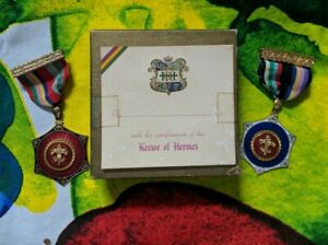 Krewe of Hermes Medallions Cross of a Chevalier St. Louis New Orleans Mardi Gras