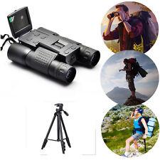 "Outdoor 2""Color Hd 720P Video Recording 12X32 Digital Binocular Camera w/Tripod"