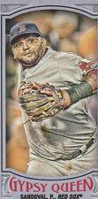 Pablo Sandoval Red Sox 2016 Gypsy Queen Purple SP 108/250