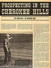 Cherokee Hills Prospect for Minerals + Genealogy