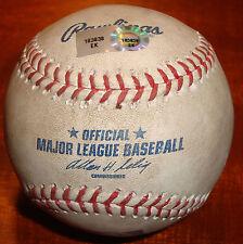 Albert Pujols Game Used Last St. Louis Cardinals Home Run Baseball 9-22-11 MLB