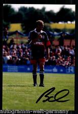 Mario Basler SUPER AK foto il Bayern Monaco 1998-99 (12) ORIG. firmato