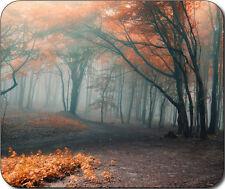 Scenic Forest Fall Fog Autumn Trees Large Mousepad Mouse Pad Great Gift Idea