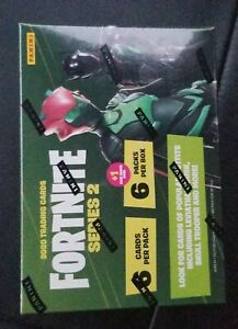 2020 Fortnite Series 2 Factoty Sealed Blaster Box (6 Pack, 6 Cards)🔥🔥New🔥🔥