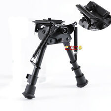 "Harris Style 6"" to 9"" Spring Return Rifle Bipod&Sling Swivel Pivot Aluminum New"