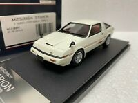 1/43 HI STORY HS174WH MITSUBISHI STARION TURBO 2000 GSR-X 1982 WHITE model car