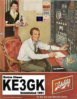 Amateur Radio Wall Poster * Ham Radio 13x19 * Your Call Sign * KE3GK