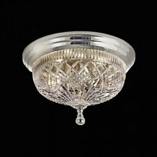 Waterford Beaumont 12 Inch Silver Ceiling Fixture