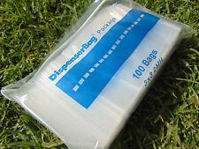 "1000 Pcs Zip Lock Bags 3x3 Clear 2mil Poly Bag Square 3"" X 3"" Reloc Ziplock"