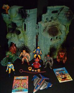 He Man Masters Of The Universe Castle Grayskull Job Lot Bundle Vintage Retro