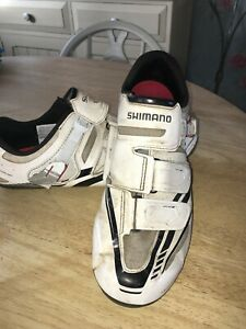 shimano dynalast cycle shoes size 10